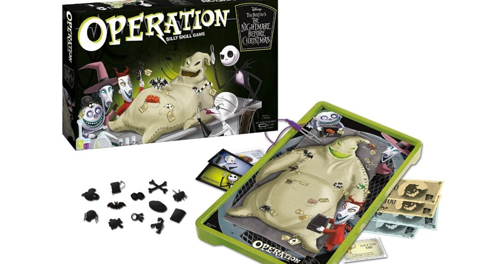 Disney The Nightmare Before Christmas Operation Board Game