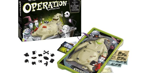 Disney The Nightmare Before Christmas Operation Board Game Available Now