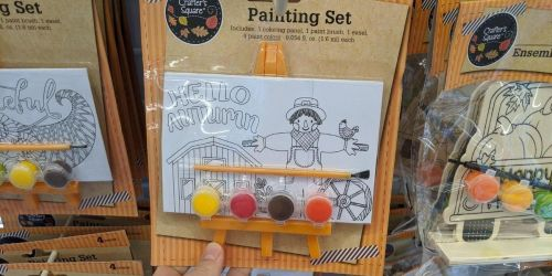Fall Themed Art Kits for Kids Only $1 at Dollar Tree