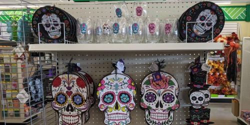 Day of The Dead Decorations Only $1 at Dollar Tree