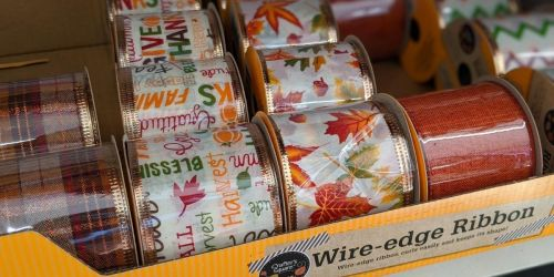 Fall & Halloween Crafting Supplies For Just $1 at Dollar Tree