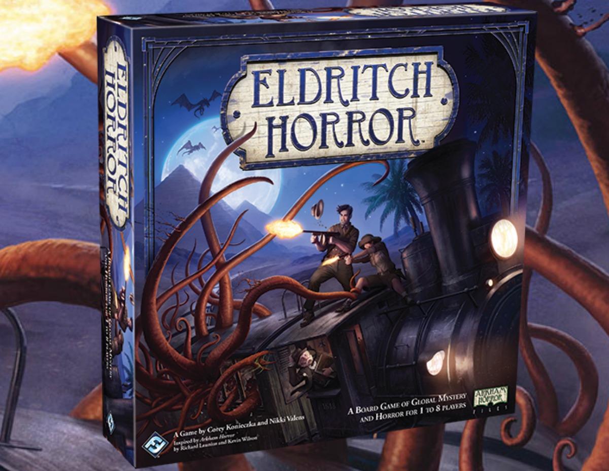 Eldritch Horror Board Game box