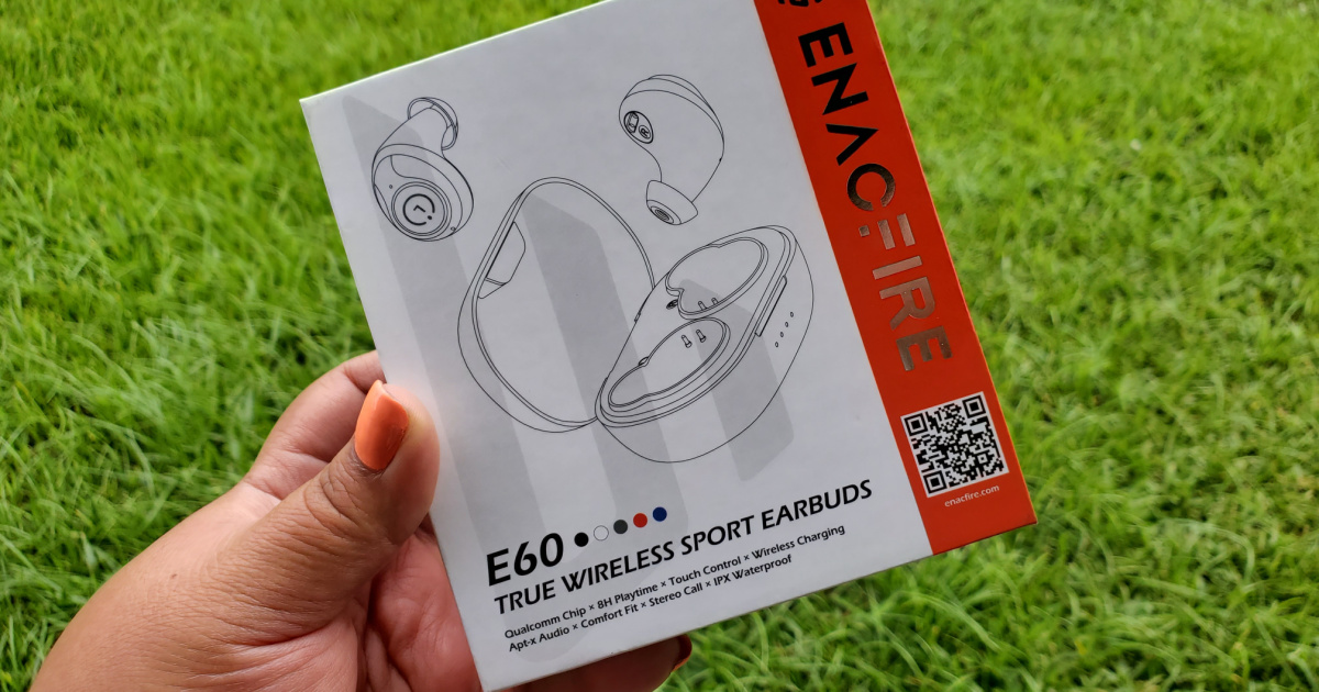 outter box Enacfire E60 Wireless Bluetooth Earbuds