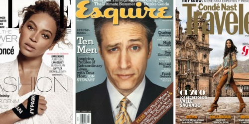Complimentary Elle, Esquire AND Condé Nast Traveler Magazine Subscriptions