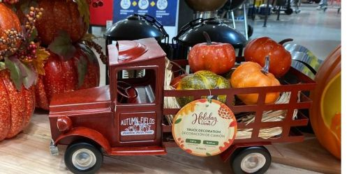 Vintage Halloween Truck Just $24.98 at Lowe's