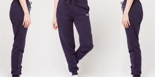 FILA Women's Fleece Joggers Only $10.99 Shipped on Costco.com