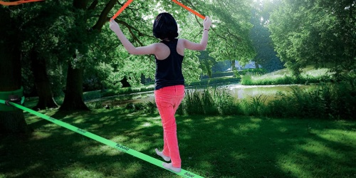 Up to 65% Off Slackline & Obstacle Kits + Free Shipping on Amazon