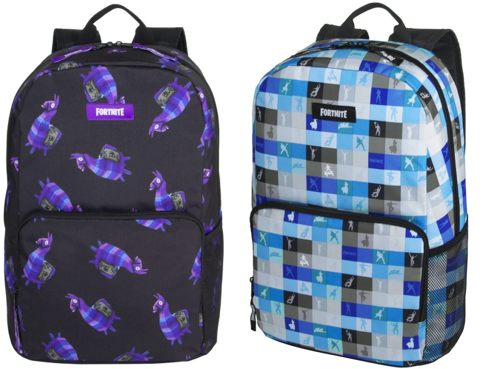 two kids video game backpacks