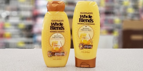 Garnier Whole Blends Shampoo & Conditioner Just 23¢ Each at Walgreens