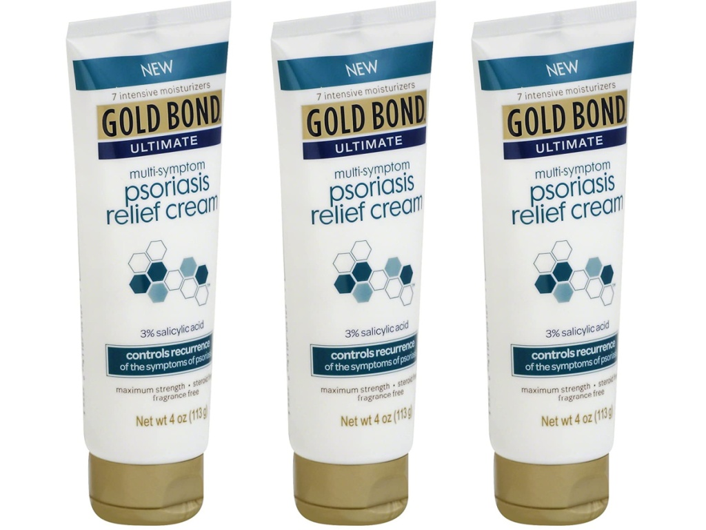 Gold Bond 4-Ounce Ultimate Psoriasis Relief Cream
