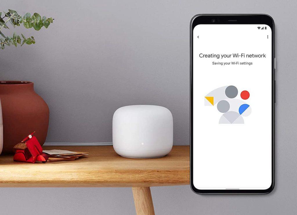 google next with wifi