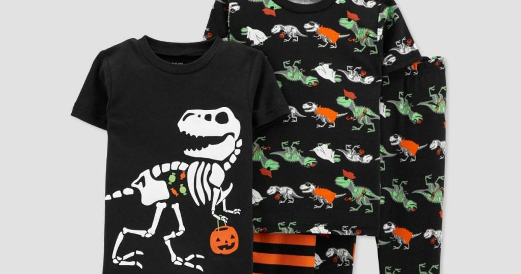 Halloween 4 piece pajama set from Target