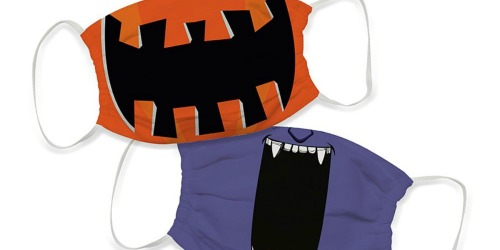 Kids Halloween Reusable Face Mask 3-Packs Only $14.99 on Zulily