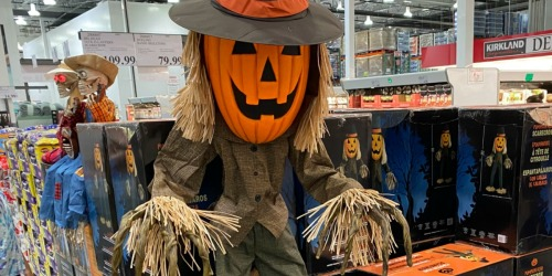 Costco's Animated Halloween Decorations Are Just What Your Haunted House Needs