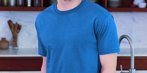 Hanes Men's Basic Tees from $3.70 on Amazon (Regularly $9) | Plus Sizes Available