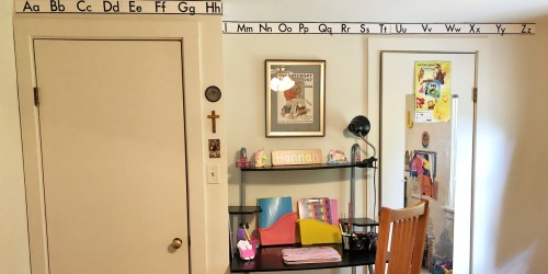 This Mom Created a Distance Learning Area in Her Home to Make Home School Feel Special