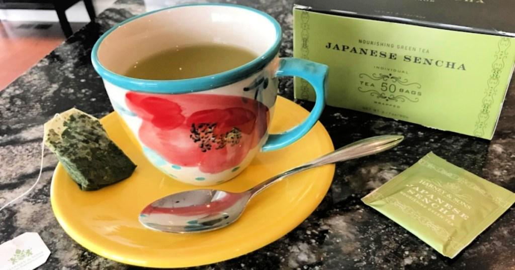 Harney & Sons Japanese Sencha Green Tea 50-Count Tea Bags