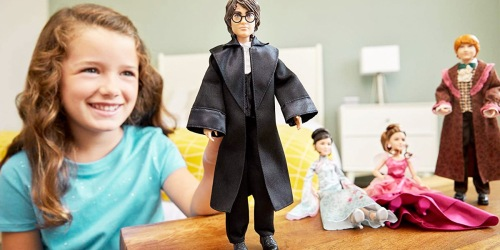 Up to 80% Off Harry Potter, Barbie & DC Comics Dolls on Amazon