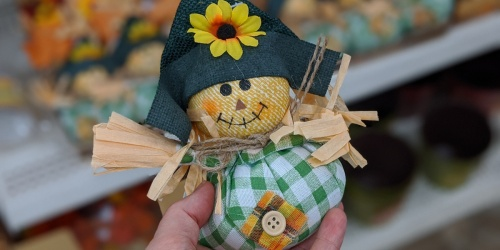 Fall & Harvest Decor Only $1 at Dollar Tree