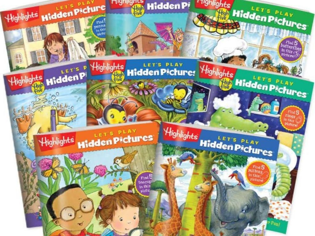 eight highlights learning books