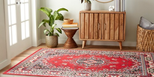 5×7 Area Rugs from $27.79 on Walmart.com