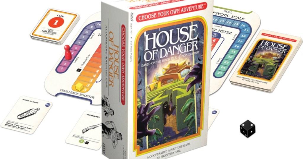 House of Danger board game