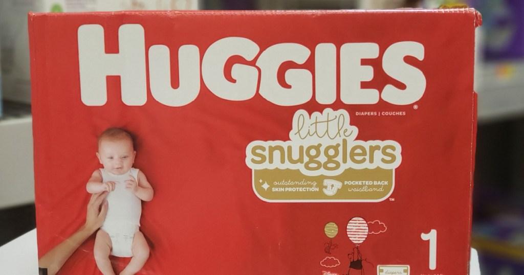 Huggies Boxed Diapers