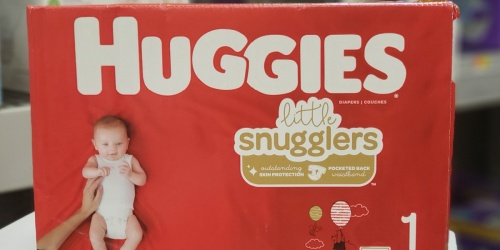 FREE $25 Walmart Gift Card w/ Select Huggies Diapers Purchase