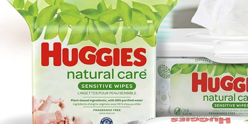 Huggies Natural Care 528-Count Baby Wipes Only $11 Shipped on Amazon