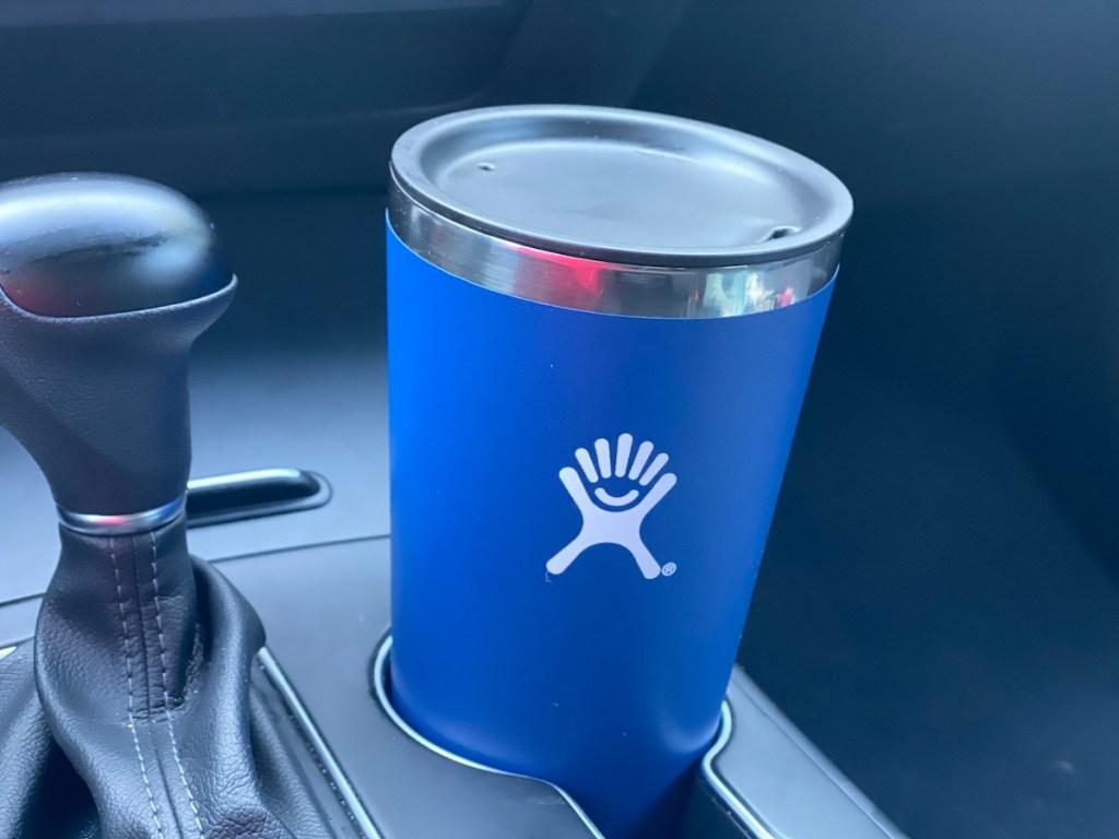 Hydro Flask in car