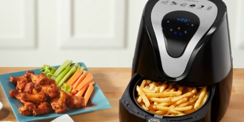 Insignia Digital Air Fryer Just $29.99 on BestBuy.com (Regularly $100) | Over 1,500 5-Star Reviews