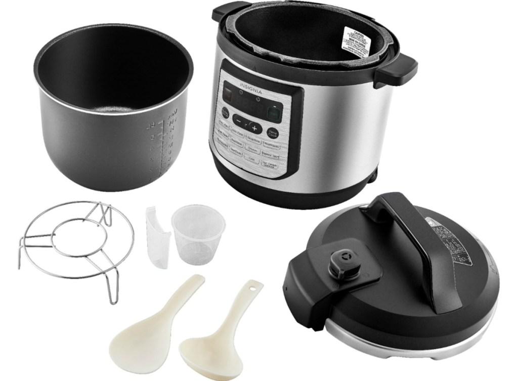 Insignia multi cooker and accessories