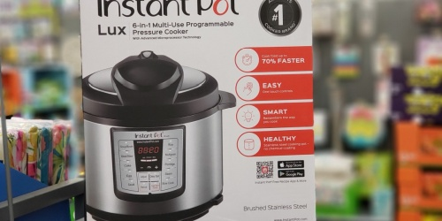 Instant Pot Lux 8-Quart Pressure Cooker Only $69.98 Shipped for Sam's Club Members (Regularly $90)
