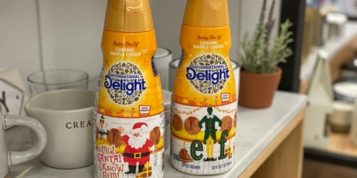 International Delight's Buddy the Elf-Inspired Coffee Creamers are Now Available at Target