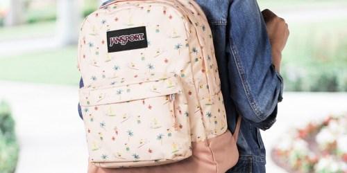 JanSport Superbreak Backpacks from $15.99 on Amazon (Regularly $36)
