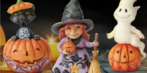 Up to 60% Off Jim Shore Figures + Free Shipping | Halloween, Christmas, Disney & More