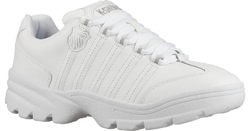 K-Swiss Men's White Sneaker