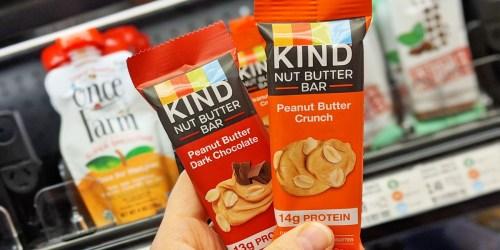 Free KIND Nut Butter Bar at Target After Cash Back