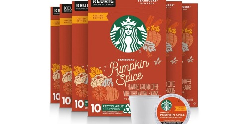 Starbucks Pumpkin Spice 60-Count K-Cups Only $24.98 on Amazon