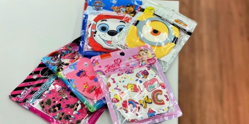 Kids Character Reusable Face Masks Only $3.97 at Walmart