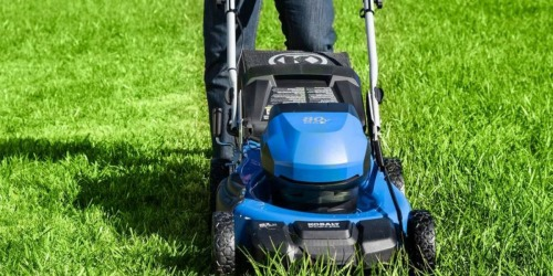 Kobalt Cordless Electric Lawn Mower Only $324 at Lowe's (Regularly $499)