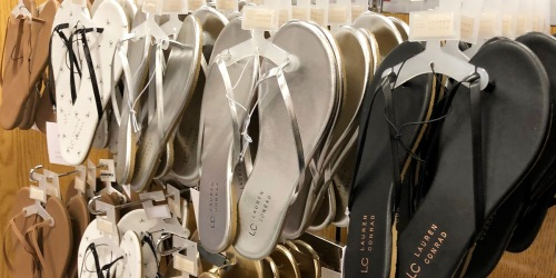 Over $140 Worth of Women's Sandals Just $30.77 Shipped for Kohl's Cardholders