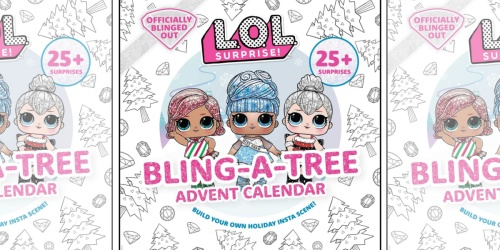 New L.O.L. Surprise! Bling-A-Tree Advent Calendar Only $16.86 | Pre-Order Now