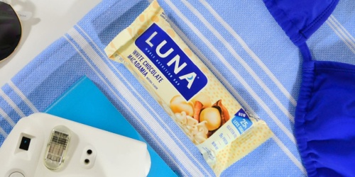 Luna Gluten-Free Bars 15-Count Only $8.88 Shipped on Amazon | Just 59 Per Bar