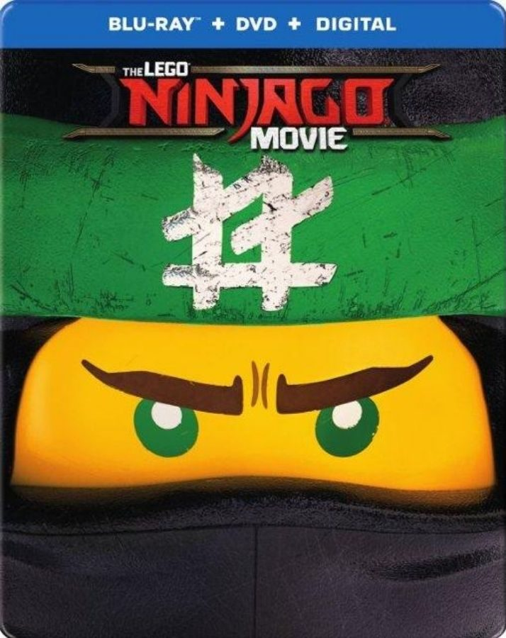 lego ninjago movie on DVD
