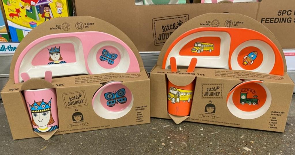 Little Journey dinnerware sets