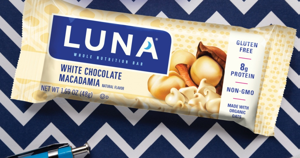 Luna Gluten Free Snack Bars 15 Count Only 9 60 Shipped On Amazon Just 64 Per Bar Hip2save