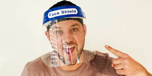 Protective Face Shield 10-Pack Just $14.90 Shipped (Regularly $30) | Only $1.49 Each