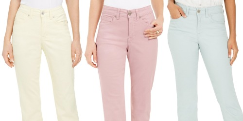 Women's Fashion Jeans from $9.73 on Macys.com (Regularly $49+)