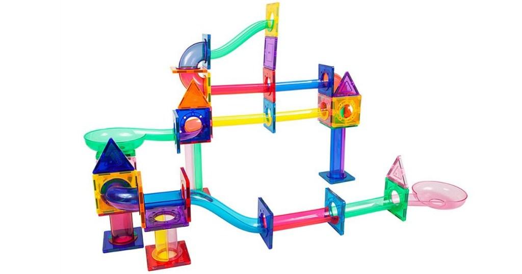 Marble Run 71-Piece Magnetic Building Blocks